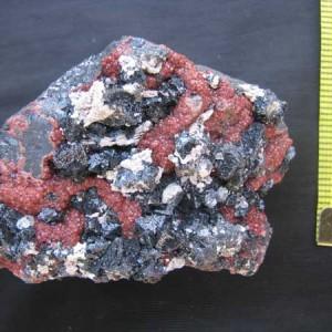 Garnet specimen from Southern Africa