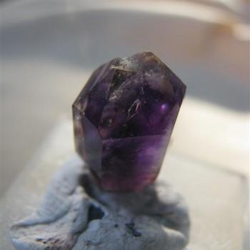 Multi-terminated brandberg crystal
